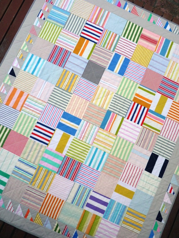 Of Stripes And Bunting A Patchwork Quilt By Red Pepper