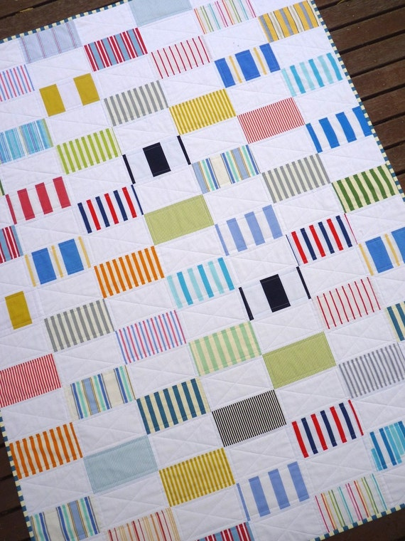 Seashells by the Seashore - Patchwork Quilt by Red Pepper Quilts