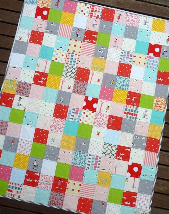 SALE SALE SALE Sherbet Pips at the Circus Quilt by Red Pepper Quilts