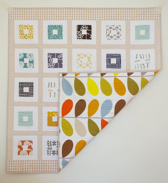 Gorgeous Gingham - : - A Patchwork Quilt