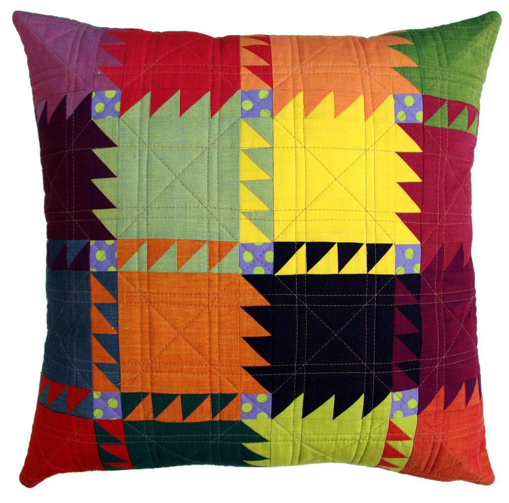 Oakshott Bear Paw Pillow Cushion Cover Pattern Pdf File