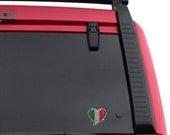 Italian Heart CAR DECAL