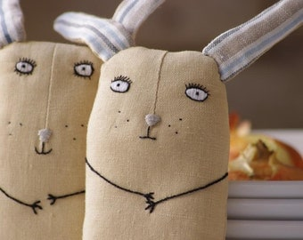 Serious bunny