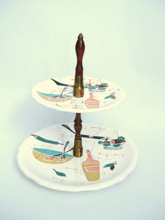 Patio Japan tiered cake stand