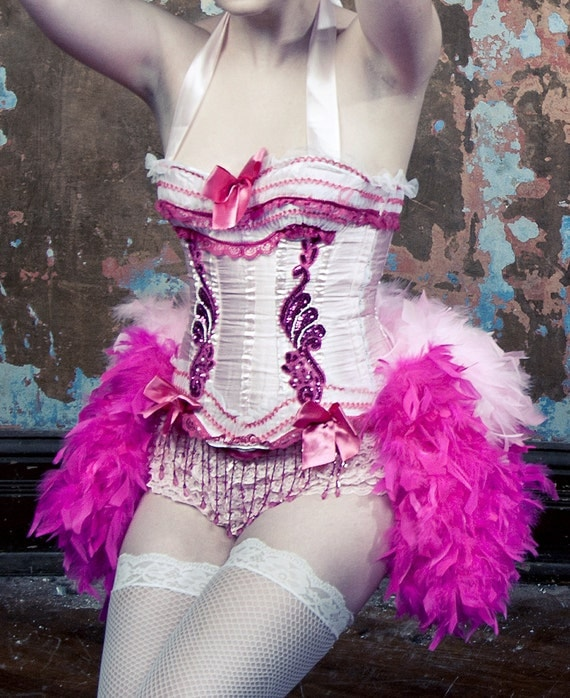 Pink Lady Burlesque Costume