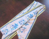 CLEARANCE SALE     Vintage Floral Scarf
