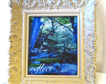 Serenity mini prints in petite frame, your choice of artwork/style