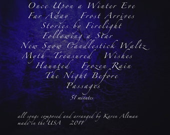Once Upon a Winter Eve CD original compositions neoclassical holiday ambient film fairy tale