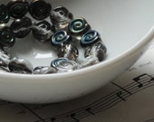 Swirly Czech Glass Discs - 7mm (25)