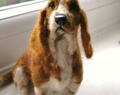Custom Dog Sculpture /Needle Felted/ Pet Sculpture by FeltedFido