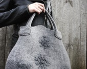 Misty-F felted handbag OOAK