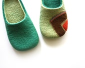Play 80's / Felted slippers