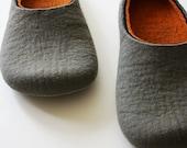 Hard line / Felt slippers Handmade to order