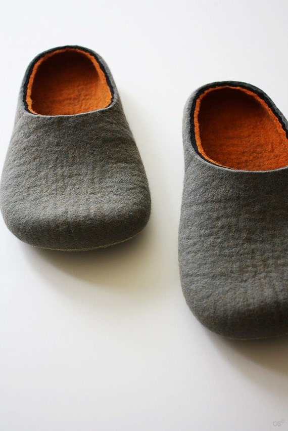 Hard line / Felt slippers Handmade to order