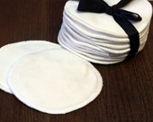 Nursing Pads by Lil Adi- Organic Bamboo Velour/ Bamboo Fleece-  5 sets- perfect shower gift for a new mom