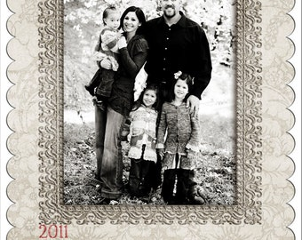 Christmas Photo Card-Set 18 ****Instant Download****