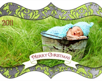 Christmas Photo Card Set 16 ****Instant Download ****