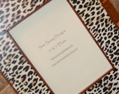 Leopard Animal Print Wooden Picture Frame