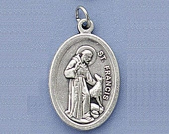 St Francis of Assisi and the Wolf Medal (1 Medal)