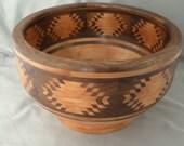 Southwest Blanket Style Bowl