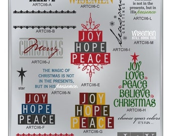 Christmas SVG Files, Christmas Tree Svg, Merry Christmas SVG, Holiday Cuttable SVG Files, Holiday Cutting Files for Cricut, Ai Svg Gsd Eps