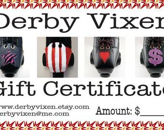 Derby Vixen Gift Certificate