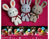 PDF Pattern - Easter Bunnies and Eggs (HQ)