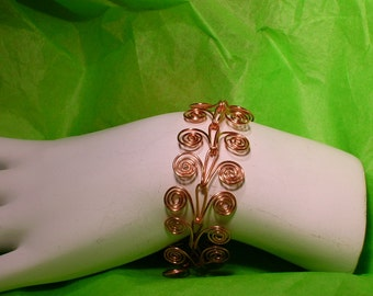 Filigree Copper Bracelet