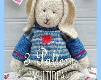 Knitting Patterns Toys Free Downloads : FREE TOY KNITTING PATTERN DOWNLOADS - VERY SIMPLE FREE KNITTING PATTERNS