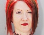 Bride of Frankenstein Stitch Choker Necklace - Natural Flesh 2