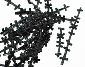 10 black stitch pieces