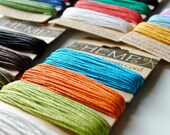 NATURAL HEMP CORD Your Choice of Colors