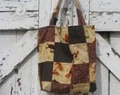 SALE Sweet Kokopelli Patchwork Tote bag