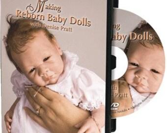 Making Reborn Baby Dolls, with Denise Pratt on DVD - Reborn Supplies