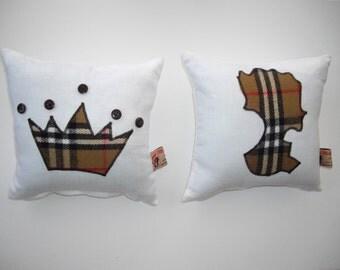The Queen's Diamond Jubilee Cushion