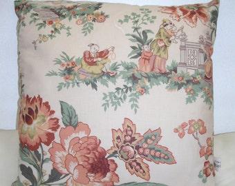Oriental Fabric Cushion Cover