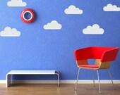 Cloud Set Vinyl Wall Decal