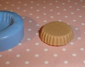 Kawaii Flexible Round Tart Bottom Mold 20mm For light weight clay (paper, resin, scupley III, Fimo, Premo)