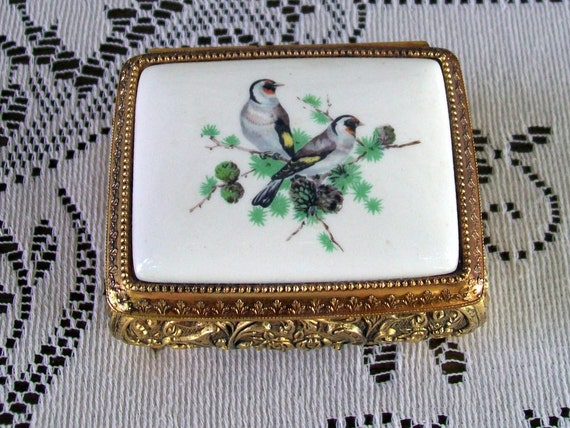 Vintage Mocking Bird Music Box By Sankyo Japan