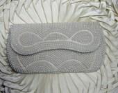 Vintage  Pearl Beaded  purse SALE