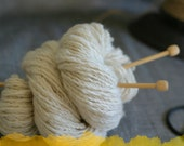 Natural White Cashmere Handspun - 50g