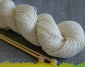 Undyed Yarn Cashmerino Fingering Weight Yarn - 100g