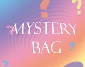 MYSTERY BAG Fake False Nails Assortment 5 Sets Petite Short Fake Nails Grab Bag, DIY Nail, Teen Tween Gift, Glue On Nails, Nail Grab Bag