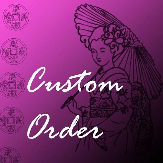 Custom Order for Fatma