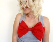 Big Red Bow Tank Top