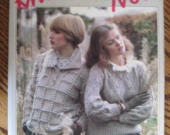 Knitting Pattern Book Knitting Now by Gabi Tubbs Ex-Library Free US Shipping