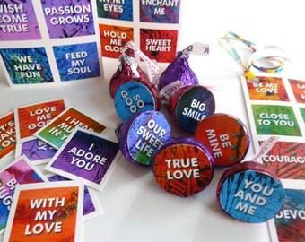 On Sale -  Valentine Love Note Sayings Digital Download