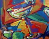 Margarita, original acrylic painting