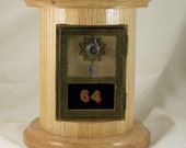 Round Post Office Box Bank, Red Oak