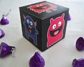 Black Monster Favor Box